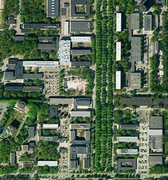 Luftfoto 2800 Lyngby DTU Science Park